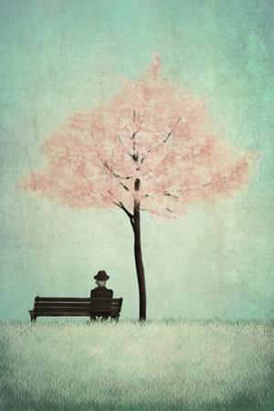 The Cherry Tree - Spring by Maja Lindberg