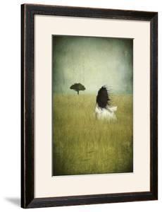 Girl On The Field by Majali