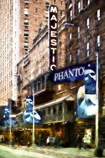 Majestic Broadway-Philippe Hugonnard-Giclee Print