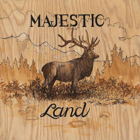 Majestic Land-Arnie Fisk-Art Print