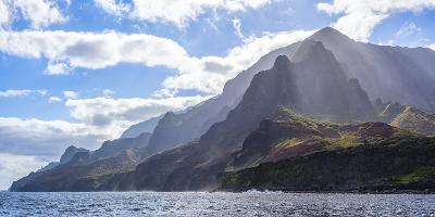 Majestic Na Pali Coastline of Kauai-Andrew Shoemaker-Photographic Print