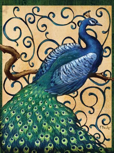 Majestic Peacock I-Paul Brent-Art Print
