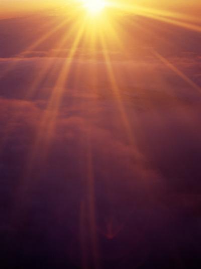 Majestic Sunset-Hal Gage-Photographic Print