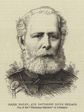Major Bailey, 4th Battalion Rifle Brigade--Giclee Print