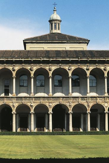 Major Cloister (Or Richini Cloister) of Former Major Hospital (Ospedale Maggiore)--Photographic Print