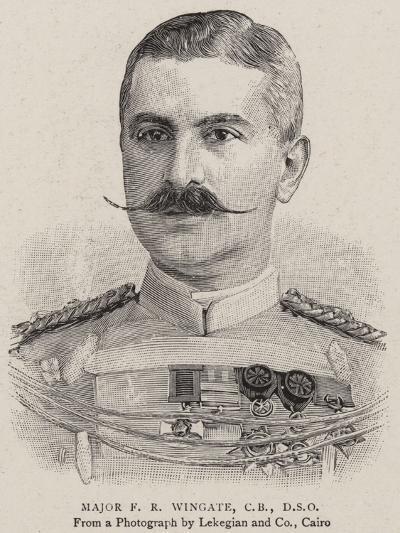 Major F R Wingate--Giclee Print