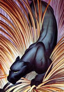 Stalking Panther by Major Felton