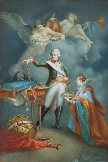 Major General Aleksandr Vassil'Evich Suvorov (1729-1800) in Uniform-Francesco Gallimberti-Giclee Print