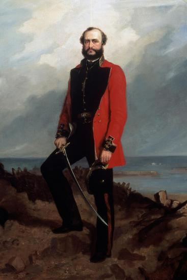 Major-General Charles Ashe Windham (1810-70) Coldstream Guards-Charles Couzens-Giclee Print