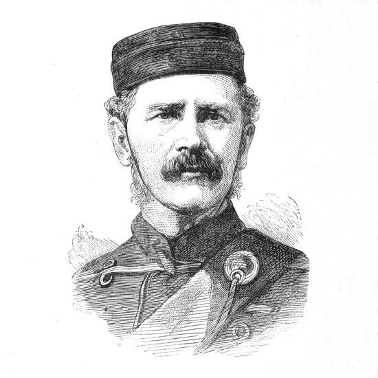 'Major-General E. Newdigate, C.B.', c1880-Unknown-Giclee Print