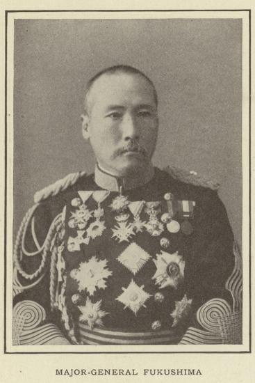 Major-General Fukushima--Photographic Print