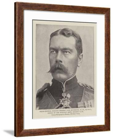 Major-General Horatio Herbert Lord Kitchener, Kcb, Sirdar of the Egyptian Army, Created Gcb--Framed Giclee Print