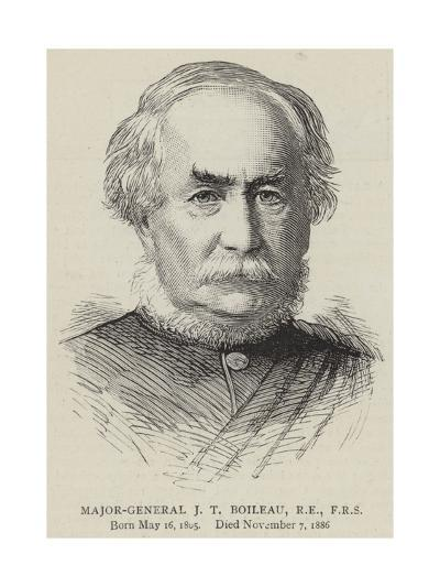 Major-General J T Boileau, Re, Frs--Giclee Print
