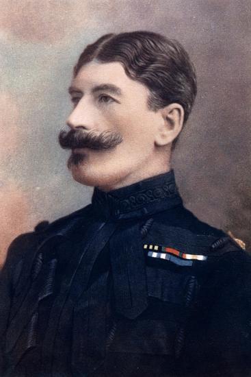 Major-General John Brabazon, Commanding Imperial Yeomanry, South Africa, 1902-HW Barnett-Giclee Print
