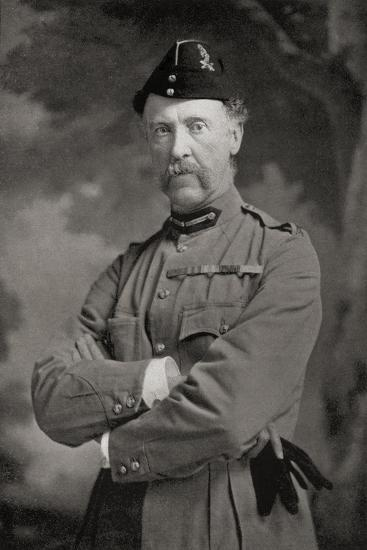 Major-General N.G. Lyttelton, from 'South Africa and the Transvaal War'-Louis Creswicke-Giclee Print