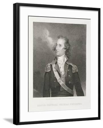 Major General Thomas Pinckney (1750-1828)-John Trumbull-Framed Giclee Print