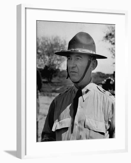 Major General Walter Krueger, Wearing Complete Uniform--Framed Photographic Print