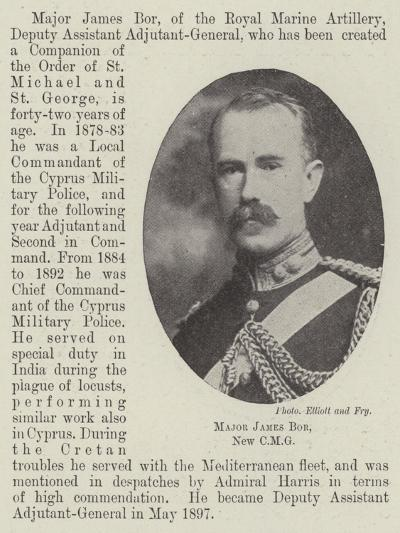 Major James Bor--Giclee Print