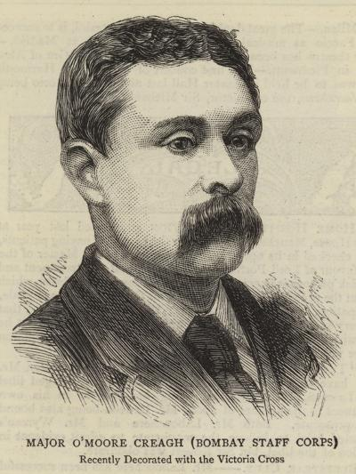 Major O'Moore Creagh, Bombay Staff Corps--Giclee Print