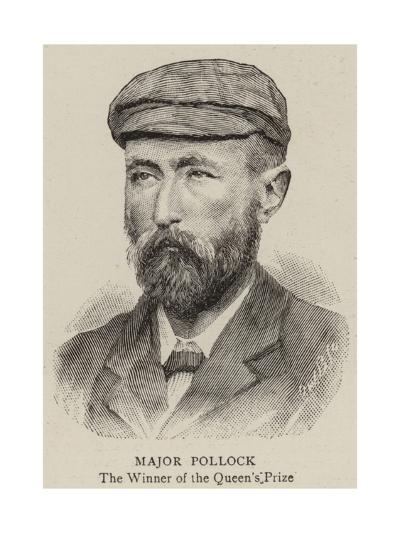 Major Pollock--Giclee Print
