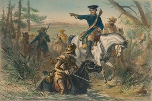 Major Washington on His Mission to the French Commander