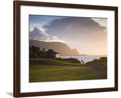 Makai Golf Course, Kauai, Hawaii, USA-Micah Wright-Framed Photographic Print
