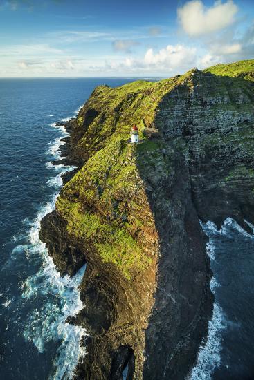 Makapu'u Lighthouse-Cameron Brooks-Photographic Print