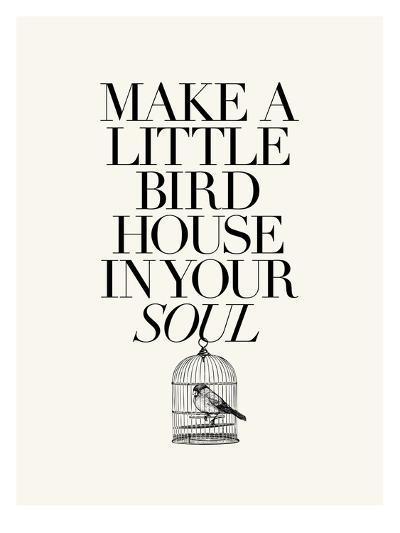 Make a Little Birdhouse-Brett Wilson-Art Print