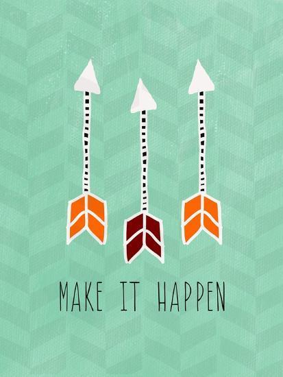 Make it Happen-Linda Woods-Art Print