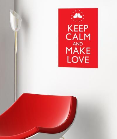 Make Love Wall Decal--Wall Decal