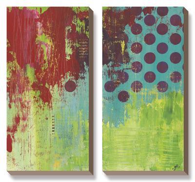 Make Me A Rainbow-Julie Hawkins-Canvas Art Set