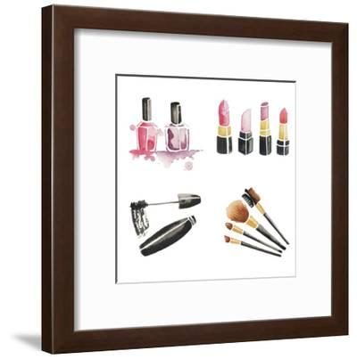 Make Me Gorgeous 1-Alicia Zyburt-Framed Art Print