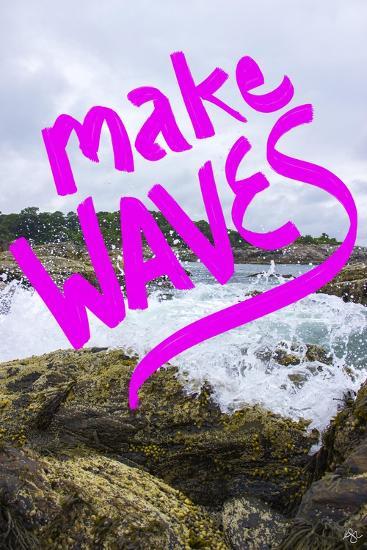 Make waves-Kimberly Glover-Giclee Print