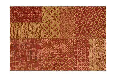Maki Tile XVII Spice-Kathrine Lovell-Art Print