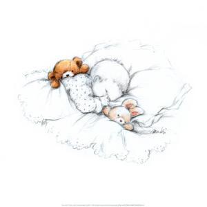 Sleepy Time III by Makiko