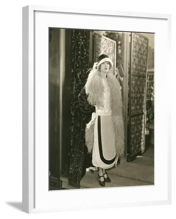 Making a Fashion Statement--Framed Photo