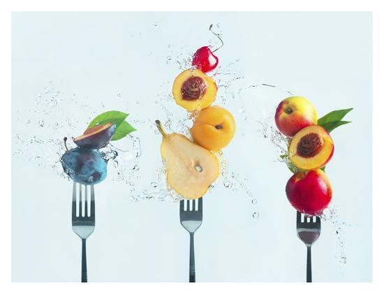 Making Fruit Salad-Dina Belenko-Giclee Print
