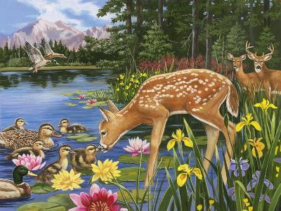 Making New Friends-William Vanderdasson-Giclee Print