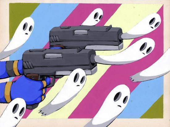 Making New Ghosts-Ric Stultz-Giclee Print