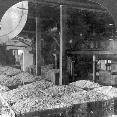 Making Paper from Rags, Holyoke, Massachusetts, USA, 20th Century--Photographic Print