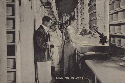 Making Plates--Photographic Print