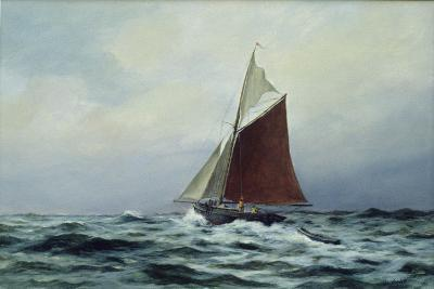 Making Sail after a Blow, 1983-Vic Trevett-Giclee Print