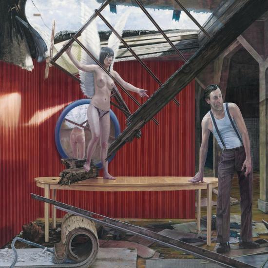 Making Sky, 2008--Giclee Print