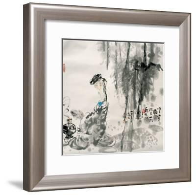 Making Tea-Shuli Wang-Framed Giclee Print