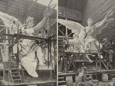 Making the Angels--Photographic Print
