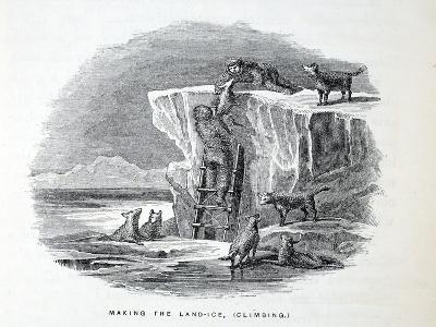 Making the Land-Ice-Elisha Kane-Giclee Print