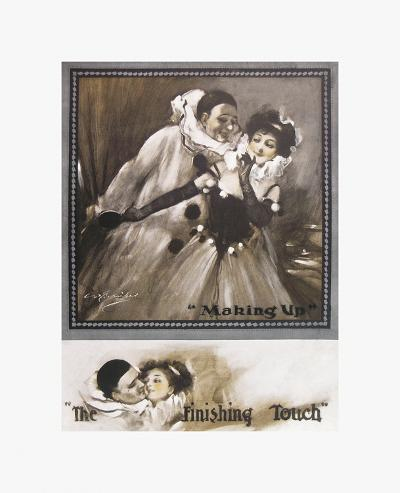 Making Up, the Finishing Touch-C. L. Barnibal-Premium Giclee Print