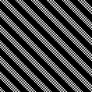 Black And White Stripe Pattern by Maksim Krasnov