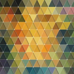 Triangles Pattern by Maksim Krasnov