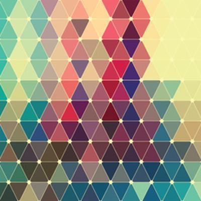 Vector Abstract Colorful Geometric Pattern by Maksim Krasnov